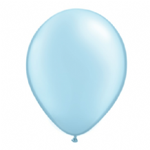 "Qualatex 11 inch Balloons - Pearl Light Blue 11"" Balloons (Pastel 25pcs)"